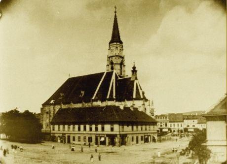 piata unirii 1900
