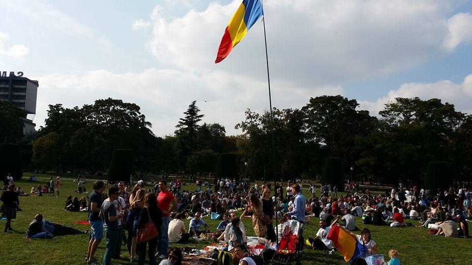 paris picnic romanesc
