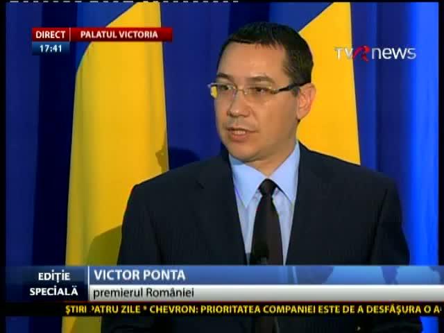 Domnule Victor Ponta, chiar pleacă Moise Guran de la TVR? Că mai era unul care zicea că pleacă Arafat…