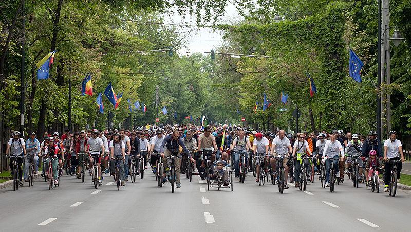 Nu e marș. E plimbare pe biciclete. Reacția bicicliștilor după ce autoritățile au respins notificarea de protest pentru 20 septembrie