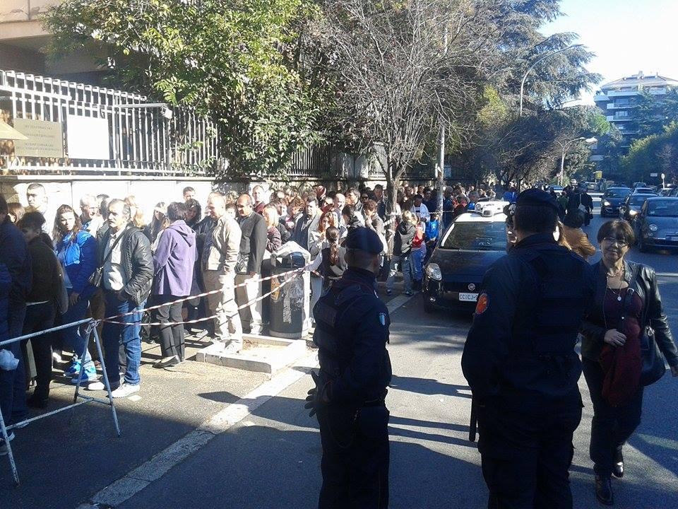 Consulatul general Roma, via Serafico