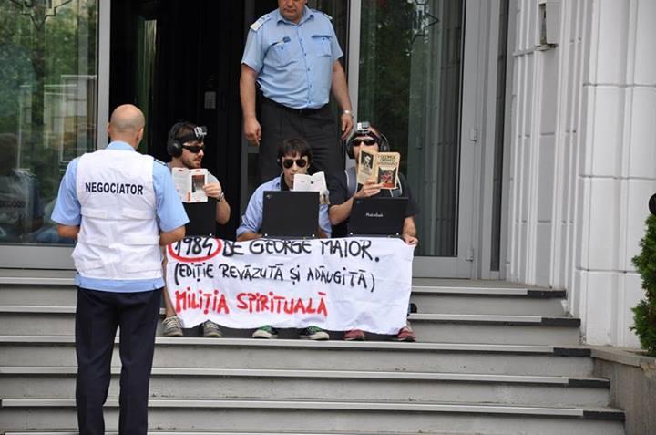 protest militia spirituala mihail bumbes sri