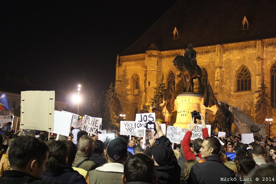 cluj protest marko laszlo 2